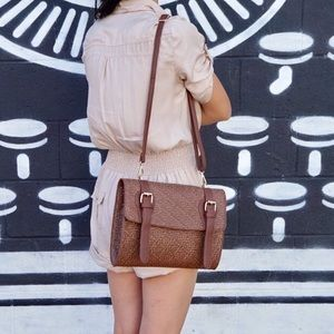 🌟LAST ONE!🌟Brown Finola Vintage Crossbody